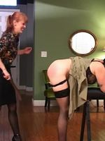 Presenting another episode in our educational spanking series. The opening chapter of Spanking 301, features Nikki Rouge in the top position and Snow Mercy as the spankee. In this segment, the lesson is about how a person who is shorter, smaller or s...