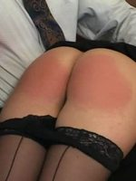 This is from our 1st series, a rear view collection of Shadow Lane beauties upturned, uncovered and spanked rosy red. No Ifs, Ands - Just Butts! 1, is a bountiful video clip compilation, wherein the cynosure of each vignette is the well-spanked, blus...